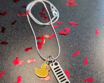 Duck duck Jeep necklace