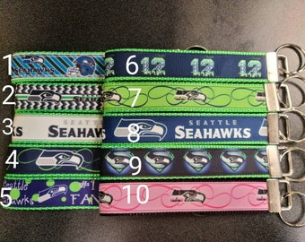 Seahawks Keyfob Keychain