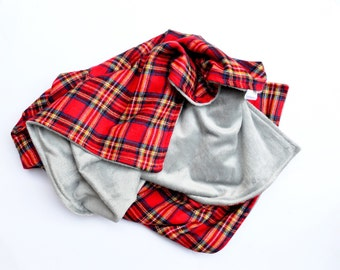 The Perfect Scottish Plaid Blanket