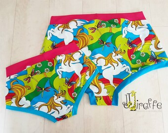 pride panties women/'s underwear matching his and hers comfy undies by Felicianation Ink Rainbow striped Cheeky briefs for women