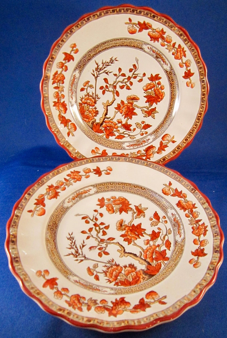 Spode INDIAN RED Dinner Plate HOME ACCENTS More Available