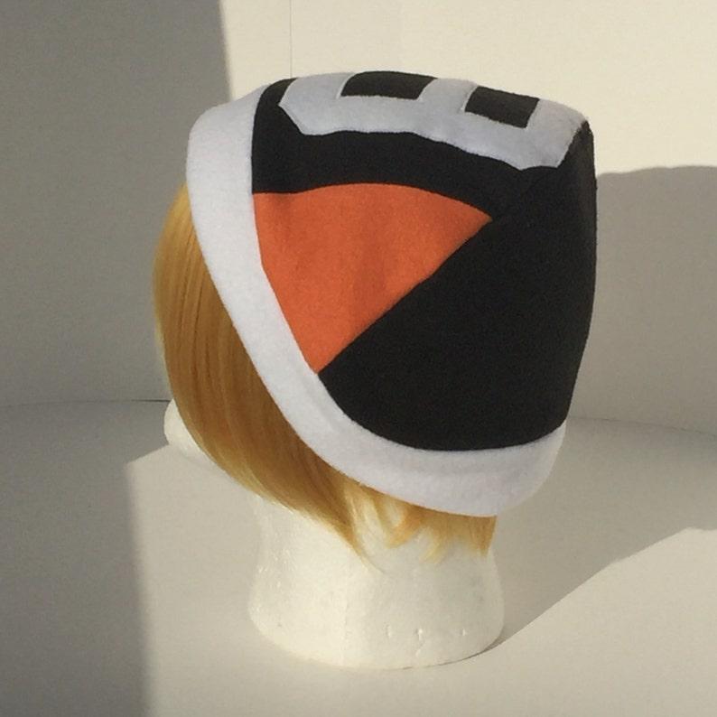 Inspired #9 Kageyama Tobio Orange and Black Sports Hat Haikyuu!