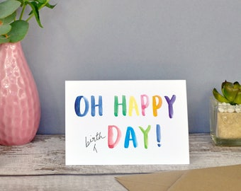 Oh Happy Day! | Birthday Card