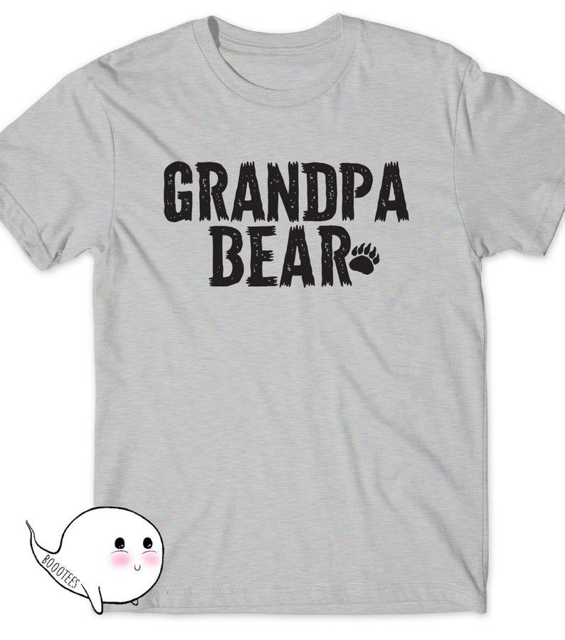 aa458f00ecfcc Grandpa Bear Shirt Father's Day Gift Idea T-Shirt T Tee Mens Present New  Grandfather Daddy Pop-pop Papa Grandpop Pawpaw Papaw Dad Poppa Pops