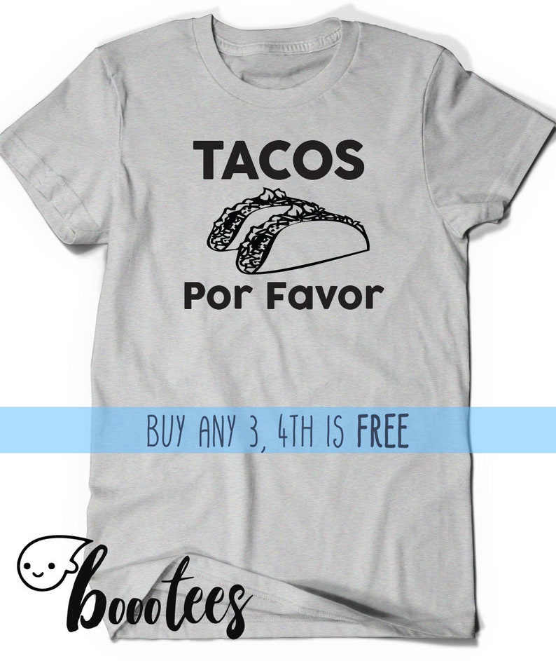 e335f7cf8 Taco Shirt Funny Tacos T-shirt Tee Men Women Ladies Funny | Etsy
