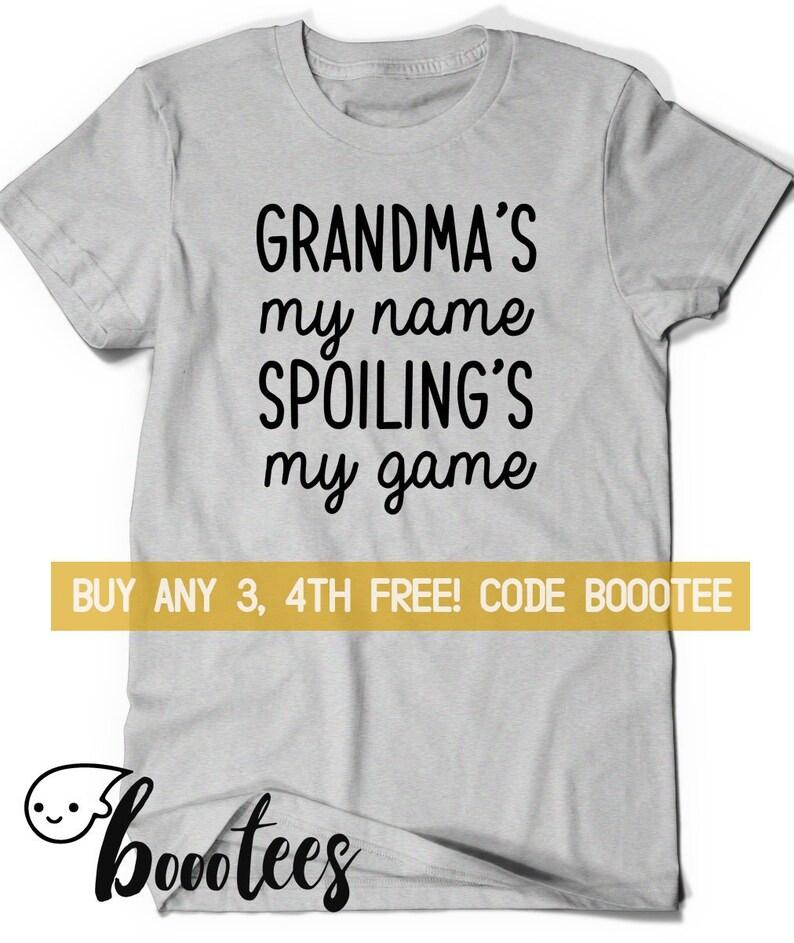 fecf8a2b Gift for Grandma Idea Funny Grandma Shirt T T-shirt Tee Kids | Etsy