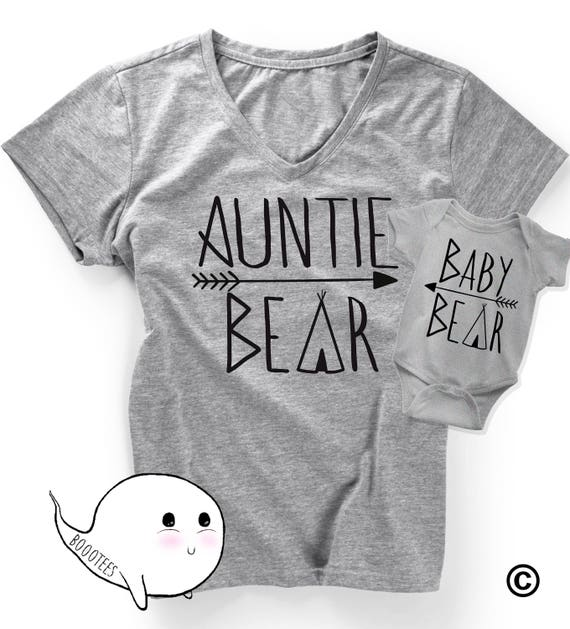 Christmas Gifts For Nephew And Niece: Gift For Aunt Matching Auntie Bear Nephew Or Niece Baby