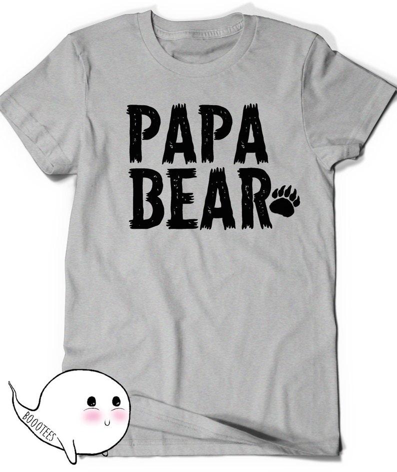 01bb5d2176c2e Papa Bear T-Shirt First Fathers Day Gift Ideas T Shirt Tee Present New  Daddy Baby Shower Grandfather Pop-Pop Dad Grandpop Granddad Pop Papa