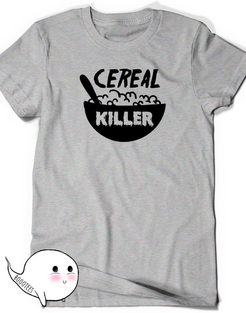 93a91e9c1 Funny Cereal Killer T shirt T-Shirt Tee Men Women Ladies Funny