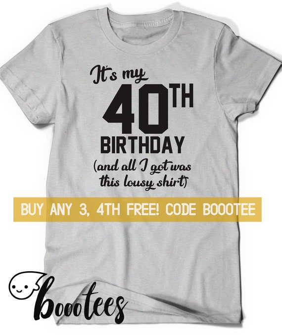 40th Birthday T Shirt Gift Mens Novelty Gifts Ideas 1978 in Branded Gift Box