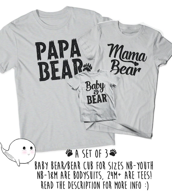 Mama Bear Baby T-Shirt Kids Cotton T Shirts Comfort Graphic Tees for 6M-2T Baby