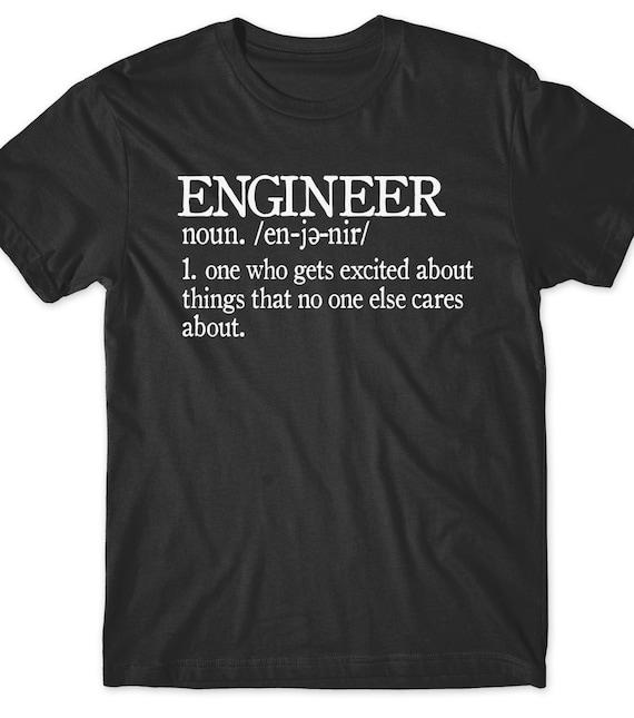 28d6e3bf Funny Engineer T-Shirt T Shirt Gift Idea Tees Men Ladies Women   Etsy