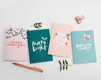 Etsy Christmas Cards.Xmas Cards Etsy