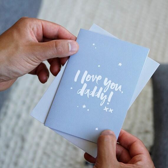 Vatertag Karte Erste Vatertag Lieben Sie Papa Karte Für Etsy