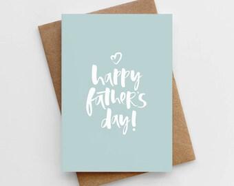 Happy Father's Day Card - Father's Day Card - Card For Dad - Card For Daddy - Father's Day - Dad's Day Card - Dad Card