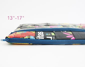 """Laptop Case 13"""" sustainable, white recycled MacBook Air Case, eco Laptop Case 16"""", 13"""" laptop, vegan MacBook Pro 13"""" case, MacBook Pro 15"""""""