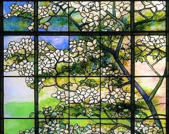 Stained Glass Prism Flower Suncatcher Season/'s Cheer