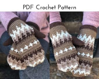 Bernie's Mittens Crochet Pattern | PDF Digital Download
