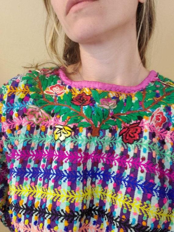 Vintage Mexican Huipil dress • medium - image 3