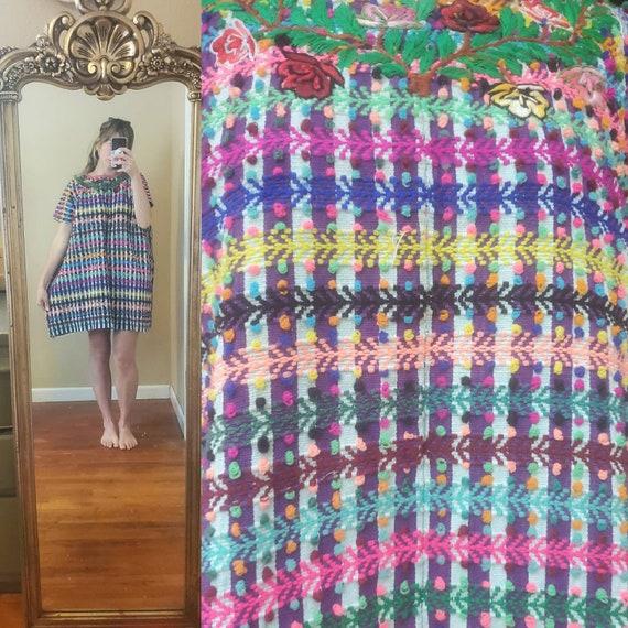 Vintage Mexican Huipil dress • medium - image 2