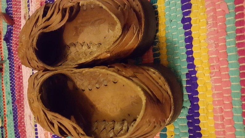 size 7.5 Leather Sandals Woman/'s Mexican Leather Huarache