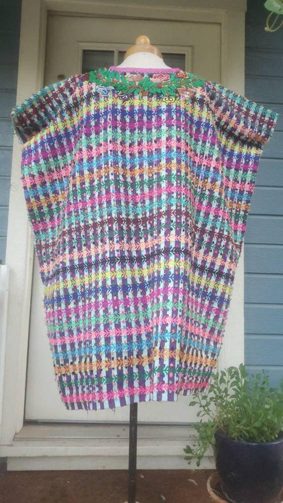 Vintage Mexican Huipil dress • medium - image 5