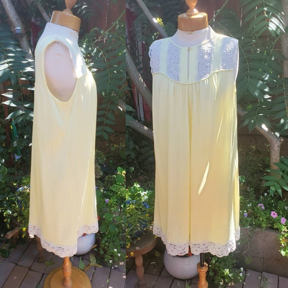 Yellow vintage nightgown • s/m