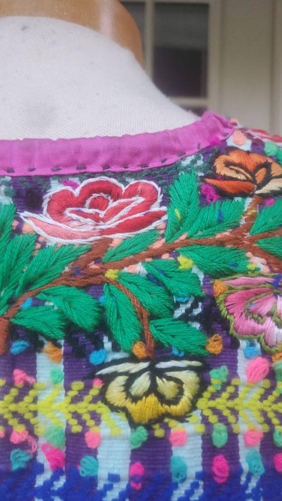 Vintage Mexican Huipil dress • medium - image 6