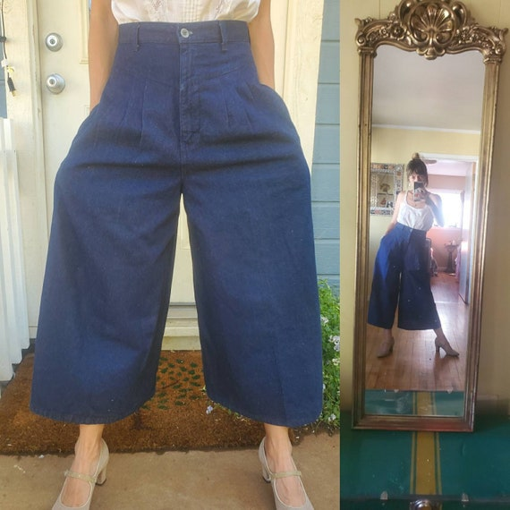 1980s wrangler gaucho pants