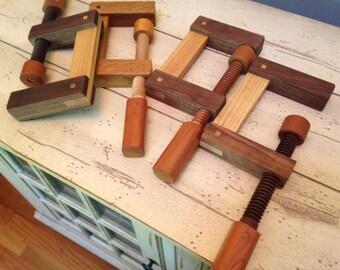 Handmade Wood Clamps