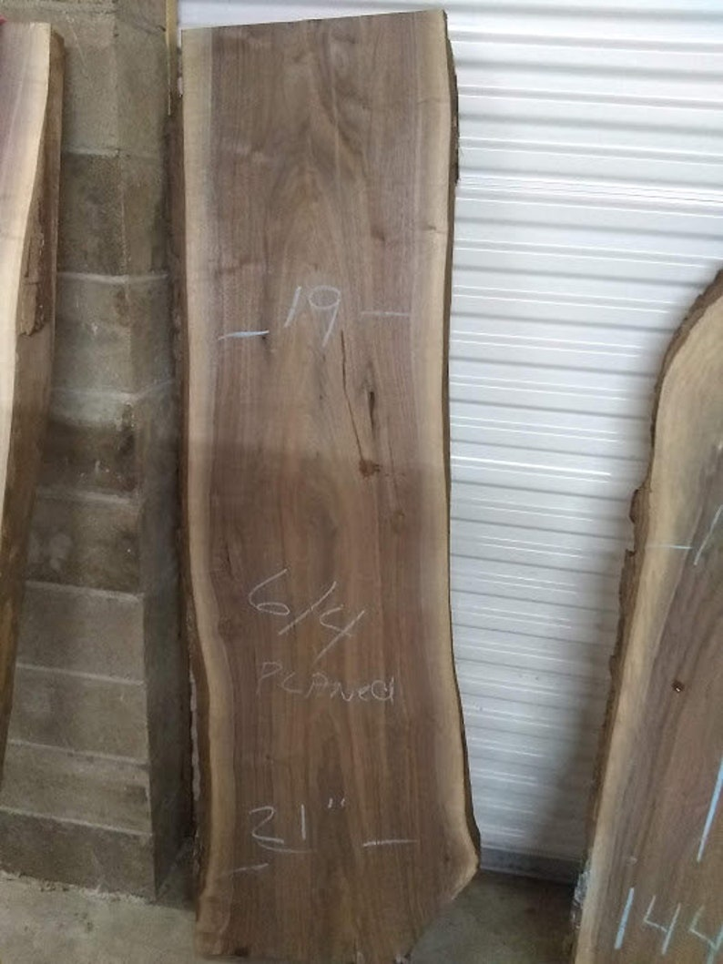 d96cde62945 Live Edge Wood SLabs Finished Only...Custom