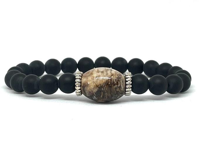 Men's Agate Bracelet