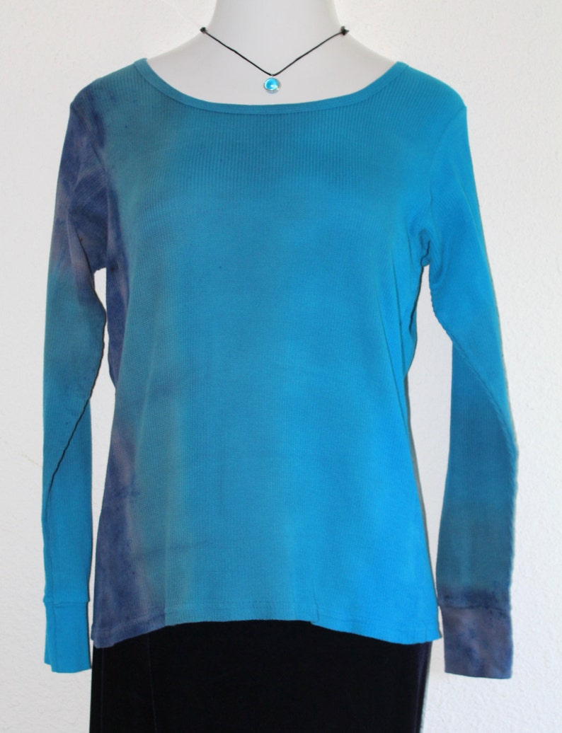 hand dyed clothing Ombre Women/'s Thermal Shirt
