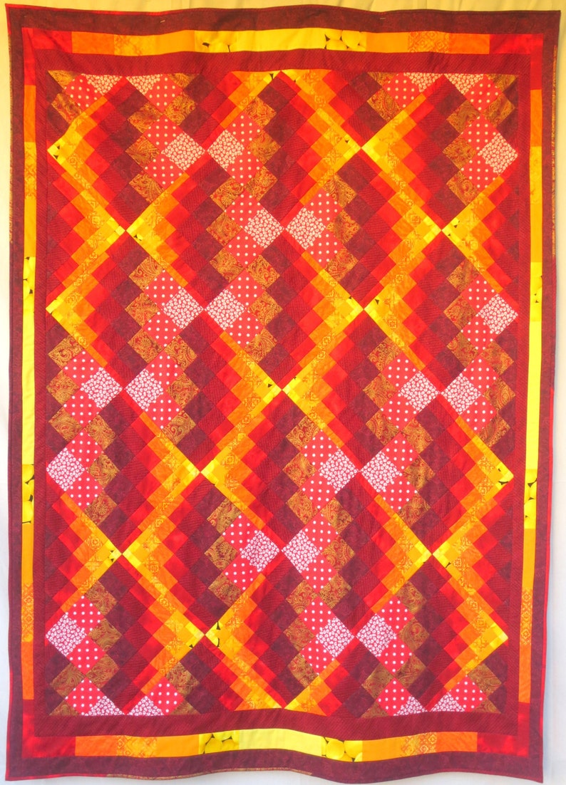 Will-O-The_Wisp Bargello Quilt Pattern