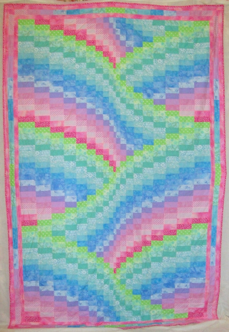 Dawn Lightning Bargello Quilt Pattern