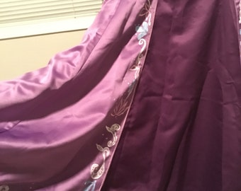 "Rapunzel inspired cosplay skirt ""plus"" size"