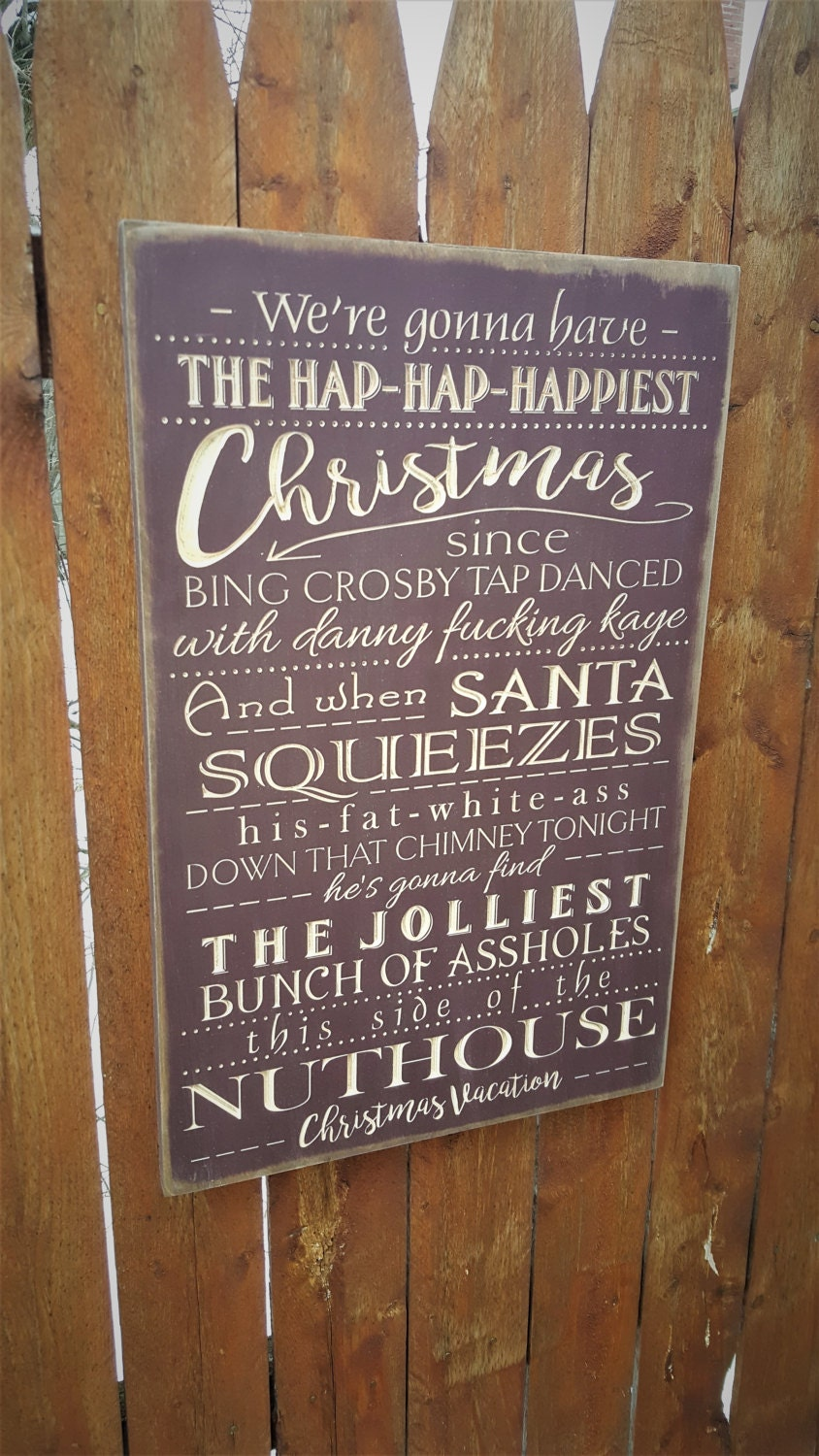 Christmas Vacation Quote Signs National Lampoon Christmas: We're Gonna Have The Hap-Hap