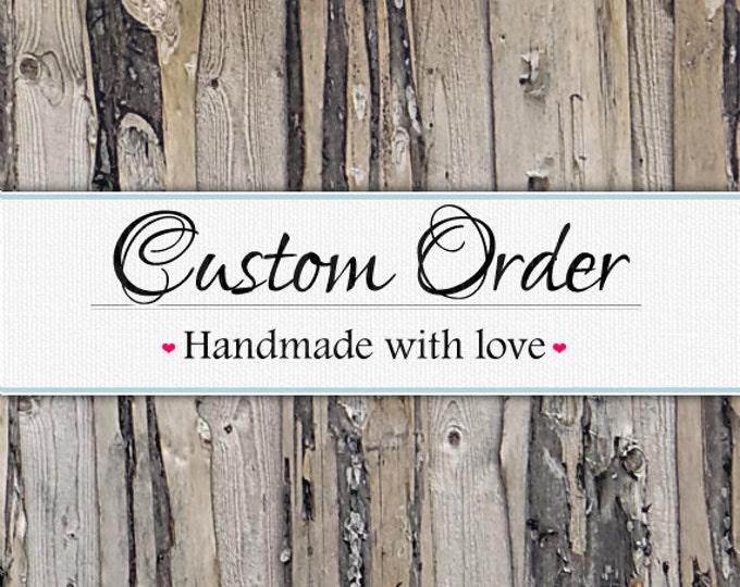 Birthday Board 6x24 Custom Listing