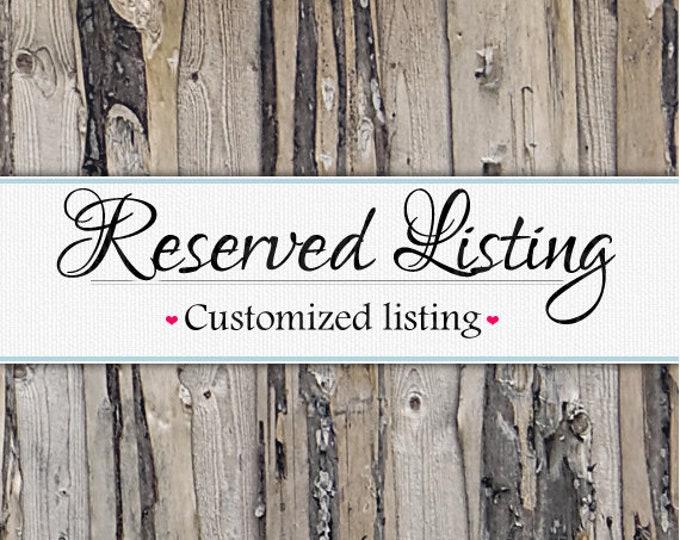 Reserved Listing - Grandkids sign size upgrade - 10x40 (5 columns)
