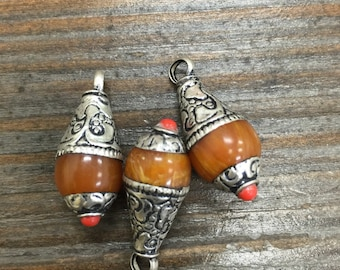 Amber charms(3pc)