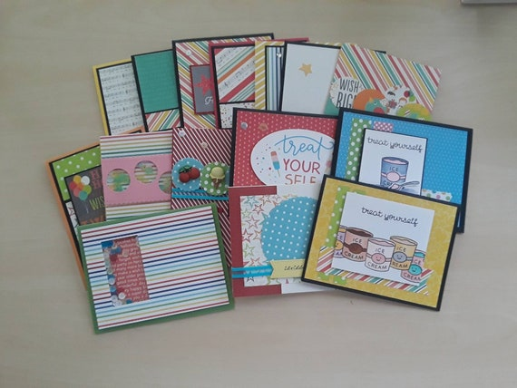 Set Of 15 Variety Birthday Cards For All Ages Etsy