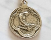 Medal - Saint Mary Magdalene Sterling Silver Medal - 20mm