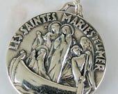 Medal - Les Saintes Maries de la Mer - Sterling Silver - 26mm