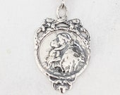 Medal - St Anthony of Padua 19x30mm - Sterling Silver