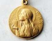 Medal - Ste MAGD-PPN 25mm - 18K Gold Vermeil