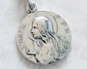 Medal - Ste MAGD-PPN 25mm - Sterling Silver