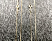 Necklace - 22 inch Italian 18K Gold Vermeil Chain for Kent