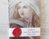 Prayer Cards - Saint Mary Magdalene Prayer Cards & Reflections — Set 1