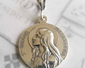 Medal - Sta Maria Magdalena 24mm - Sterling Silver