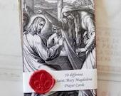Prayer Cards - Saint Mary Magdalene Prayer Cards & Reflections — Set 2